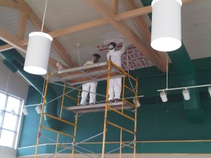 Commercial Painters - Ceiling Painting - Detroit - A Klein Company