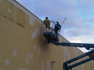 Commercial Painting Allied Printing