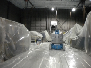 Industrial Painting Contractor Detroit Michigan Warehouse