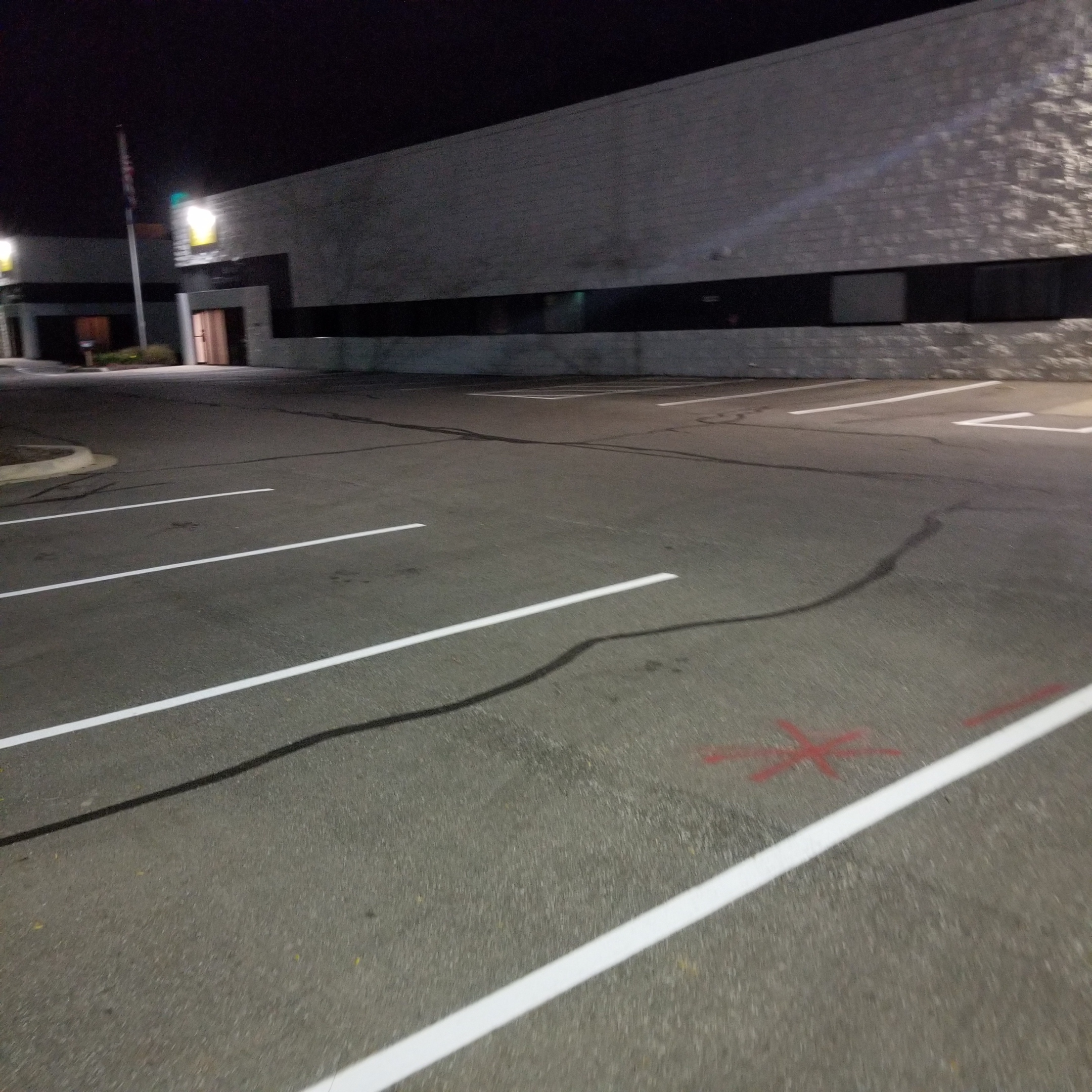 Spacing Of Parking Lot Lights: Parking Lot Line Striping / Pavement Marking